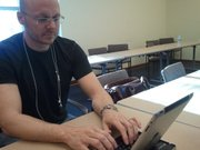 Jason Libersky, a deputy voter agent in New Mexico, developed the Evotee app for iPad.