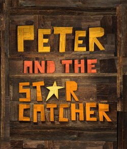 "The very cool poster for the celebrated ""Peter and the Starcatcher."""