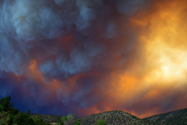 The Whitewater-Baldy Fire is the largest wildfire in New Mexico state history. Photo by Andy Magee.