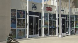 The Team USA Shop located in the Chula Vista U.S. Olympic Training Center.