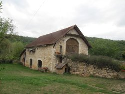 Bertrand&#39;s grandparents&#39; farm in Southwestern France where foie gras was produced. 