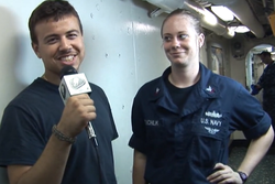 USS Makin Island shout outs