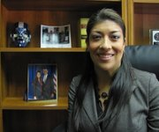 Democratic Nevada Assemblywoman Lucy Flores is attending the NALEO conference in Orlando.