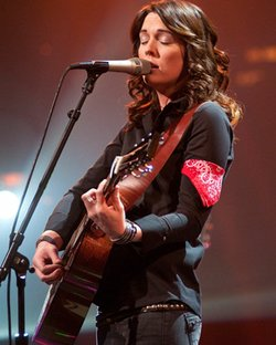 "Brandi Carlile performs songs from her album ""Give Up the Ghost."""