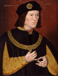 The real Richard III, the last king from the House of York, 1452 – 1485.