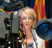Arizona Gov. Jan Brewer spoke to the media following the U.S. Supreme Court's ruling on Arizona's immigration law.