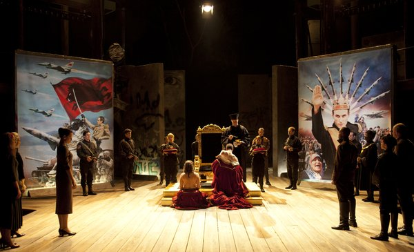 The coronation in &quot;Richard III.&quot;
