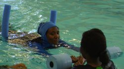 Before the YMCA started women-only swim classes, Birefes Ali hadn&#39;t been in the water since she was a teenager in Ethiopia.