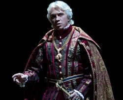"Dmitri Hvorostovsky as Don Carlo in in Verdi's ""Ernani."""