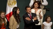 Enrique Pea Nieto and his family celebrated in Mexico City after he claimed victory in the presidential election.