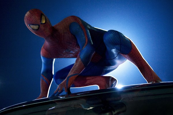 "The new Spidey in ""The Amazing Spider-Man."""