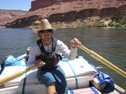 Randy Thompson is a boatman for Arizona Raft Adventures.