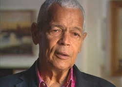 Civil rights activist Julian Bond.