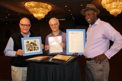 In 1964, when the Beatles appeared in Miami with Ed Sullivan, a young Michael and Jimmy Mischner asked the hotel concierge to get the autographs from the band. Almost 50 years later they ask HISTORY DETECTIVES host Tukufu Zuberi (right) to authenticate the autographs.