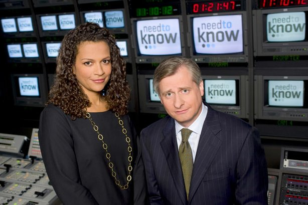Peabody Award-winning broadcast journalist Alison Stewart (left) and Pulitzer Prize-winning biographer and Newsweek editor Jon Meacham co-anchor this weekly primetime news and public affairs series.