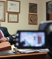 Cochise County Attorney Ed Rheinheimer sits down for an interview on Tuesday, June 26, 2012.