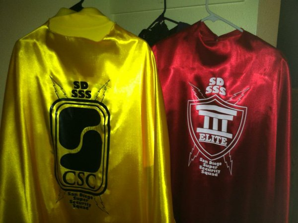 The Super Hero Security Guard Capes.