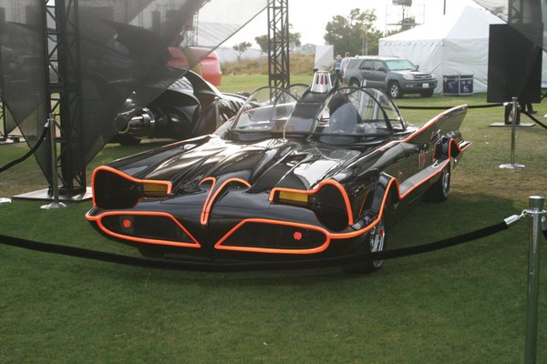 The Adam West Batmobile... now that's cool!