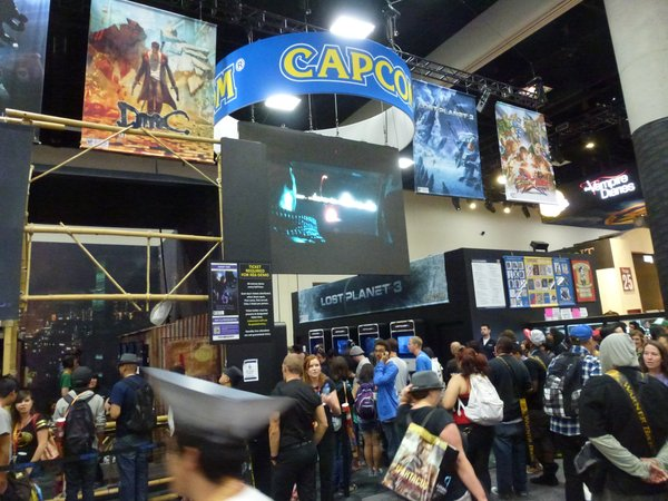 Gaming was big at Comic-Con.