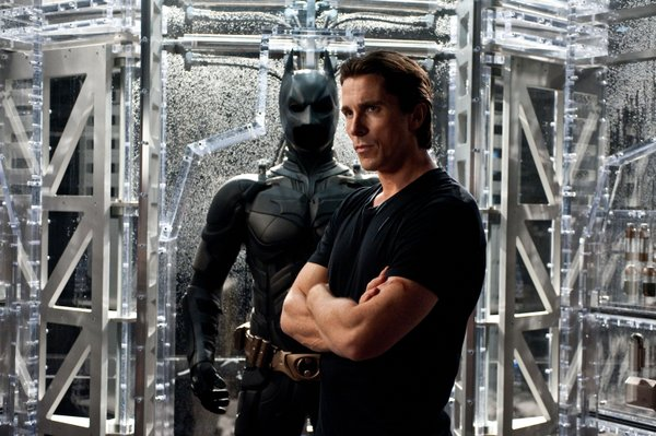 Christian Bale returns to the bat suit.