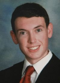 James Holmes&#39; Westview High School yearbook photo.
