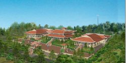 The Dai Dang Monastery in Bonsall plans to open a meditation center, shown in the above rendering.