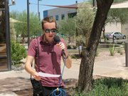 Reporter Nick Blumberg recorded part of his story outside on a 115-degree day in Arizona to prove a point.