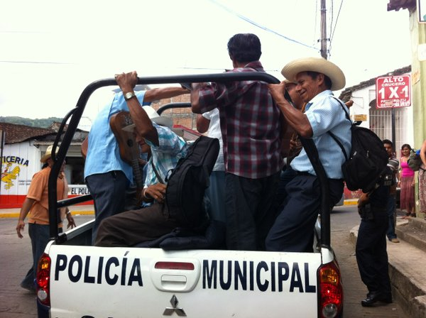 Adrian Florido and his fellow musicians were rounded up by Mexican police -- for a ride to a rural community while on an educational vacation. 