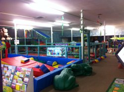 An indoor playground in Imperial County, Calif.