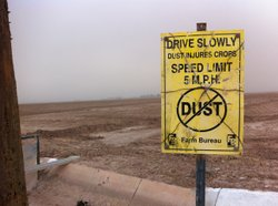 Dust controls attempt to curb air pollution in Imperial County, Calif.
