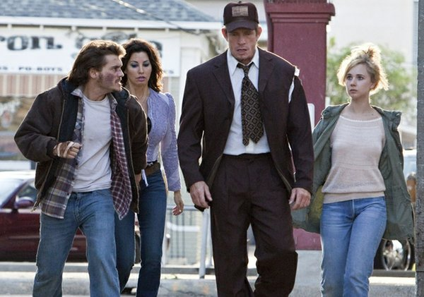 "The perfectly disheveled Smith family in ""Killer Joe.""