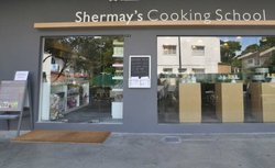 Shermay's Cooking School located at Chip Bee Gardens (Holland Village), Blk 43 Jalan Merah Saga #01-76 Singapore 278115.