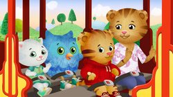 DANIEL TIGER'S NEIGHBORHOOD stars 4-year-old Daniel Tiger (pictured here, along with Katerina Kittycat, O the Owl, and Mom Tiger), son of the original program's Daniel Striped Tiger, who invites young viewers into his world, giving them a kid's eye view of his life.