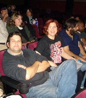 In the audience at the Ken's midnight movies.