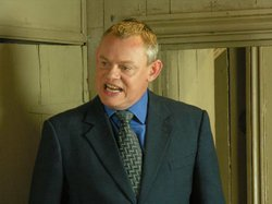 Martin Clunes stars as the brash doctor Martin Ellingham in DOC MARTIN.