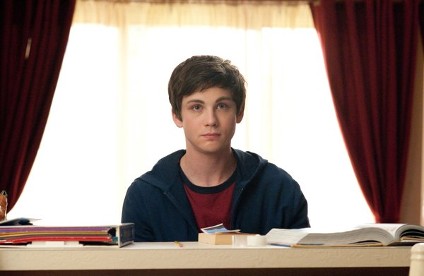 "Logan Lerman as the unassuming Charlie in ""The Perks of Being a Wallflower."""