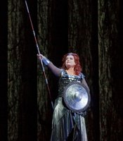 Deborah Voigt as Brnnhilde in Wagners Die Walkre.