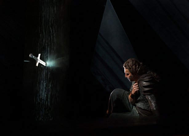 "Jonas Kaufmann as Siegmund in Wagner's ""Die Walküre."""