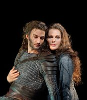 Jonas Kaufmann as Siegmund and Eva-Maria Westbroek as Sieglinde in Wagner&#39;s &quot;Die Walkre.&quot;
