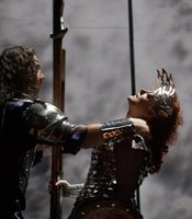 Bryn Terfel as Wotan and Deborah Voigt as Brnnhilde in Wagners Die Walkre.