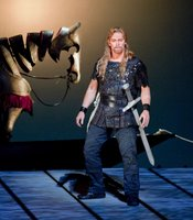 Jay Hunter Morris as Siegfried in Wagner&#39;s Gtterdmmerung.