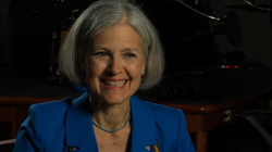 Green Party presidential candidate Jill Stein spoke to KPBS about her Green New Deal Program.