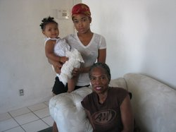 Three Cecelias: Ulsula Thomas' mother, her 18 year old daughter and her granddaughter. None of them has seen Ulsula since she was sentenced to state prison 17 years ago on a third strike of stealing clothes from Mervyns.