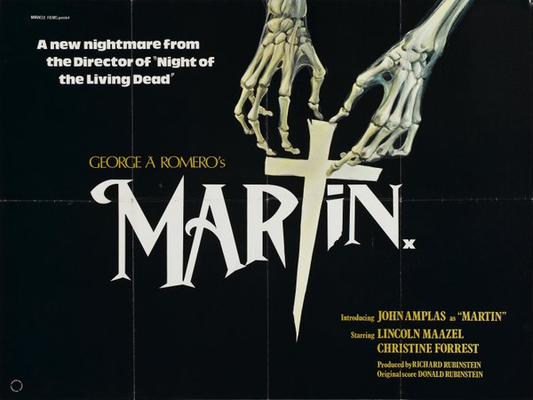 "One of the poster designs for George A. Romero's ""Martin."""