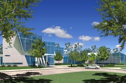 The Scripps Radiation Therapy Center, which officially opened Oct. 3, 2012.