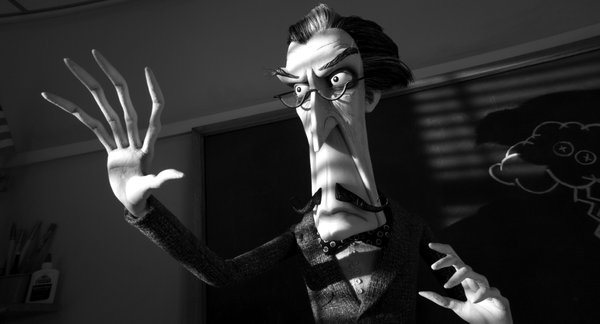 "Martin Landau voices a character that looks suspiciously like Vincent Price in ""Frankenweenie."""