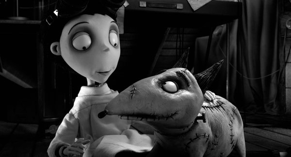 "A little love, a little electricity, and a few things from mom's kitchen and you get ""Frankenweenie."""