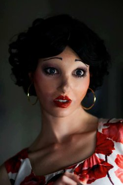 "Tristan Risk as Beatress in ""American Mary."""