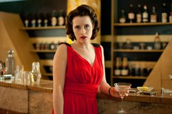 Claire Foy as Lady Persie Towyn.