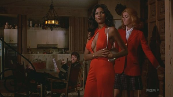 "Pam Grier in ""Foxy Brown."""
